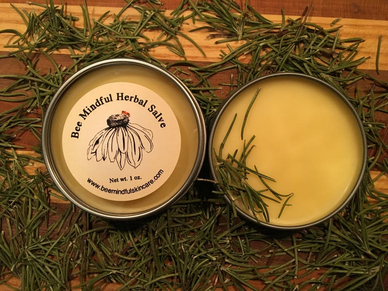 Honeybee Hand Salve Hand Salve Healing Salve Skin Repair image 0