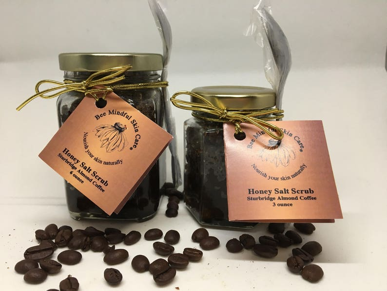Sturbridge Almond Coffee Honey Salt Scrub Coffee Salt Scrub image 0
