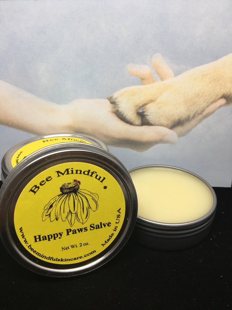 Happy Paws Salve Paw Pad Salve Paw Pad Nose Salve Bee image 0
