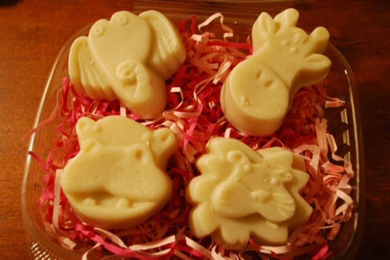 Animal Soaps Soap for Kids Honey Oatmeal Soap Oatmeal Kids image 0