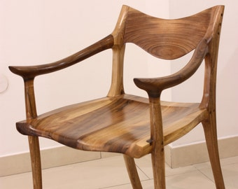 Exceptionnel Low Back Chair Inspired By Sam Maloof