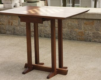 Gentil Chess Table With Drawer