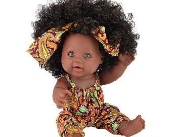 Black Baby Doll Etsy