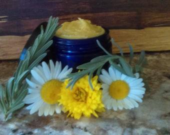 Heal me Herbs healing salve/Beeswax/Virgin Coconut Oil/Olive Oil/German Blue Chamomile/Lavender/Tea Tree/Sea Buckthorn/Herbal Infusion