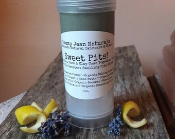 Organic Deodorant/Organic Essential Oils/French Green Clay/Stay Dry/Stay Fresh/No Harmful Chemicals/All Natural/Shea/Cocoa Butter/Arrowroot