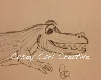 Creeping' Gator