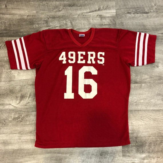 6af543933 Vintage 80s 90s Rawlings San Francisco 49ers Jersey Football