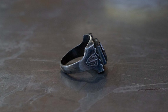 Indian Chief Mexican Biker Ring - image 3