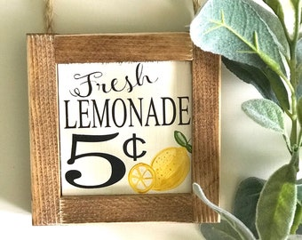 Lemon Decor Etsy