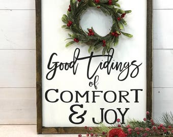 Christmas Sign | Farmhouse Christmas Sign | Christmas Decor | Rustic Christmas Sign