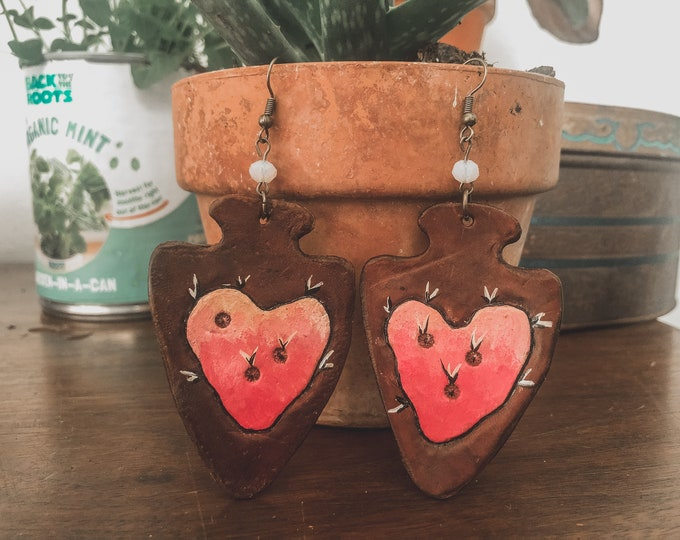 Cactus My Heart Earrings