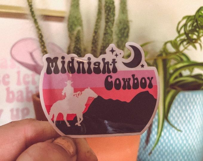 Midnight Cowboy UV Sticker