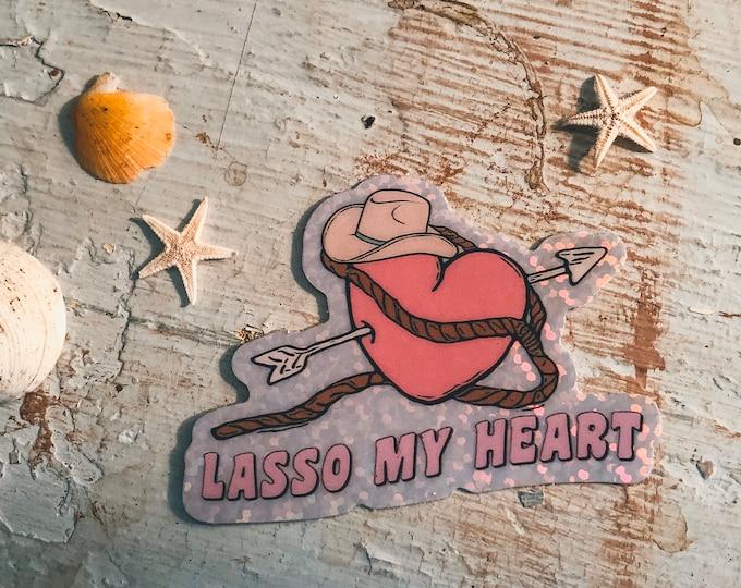 Lasso My Heart Sticker