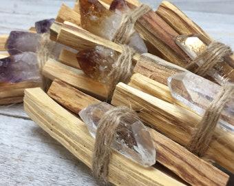 Palo Santo Smudging Sticks   4in, Holy Wood, Palo Santo Sticks, Palo Santo Bundles, Crystals