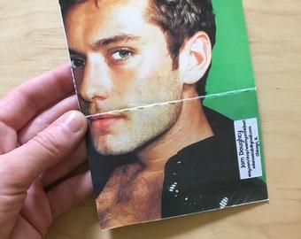 Blank-ish Bound Minibook: JUDE LAW Edition