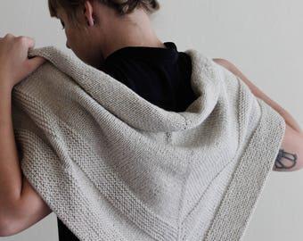 DOVE // Minimalist Wool Wrap