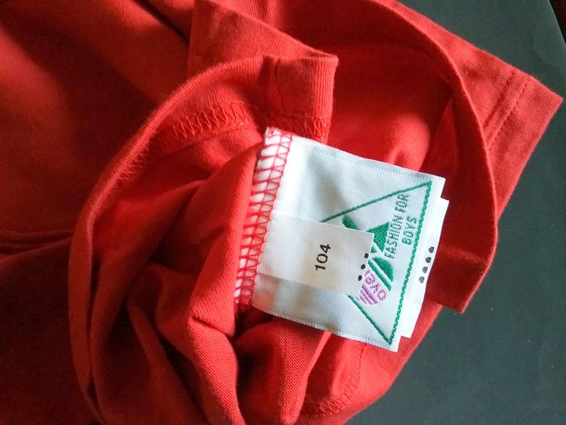 more sizes Whoopi-overdress green Rulli dimensions Turtleneck sweater vintage red change possible unisex light blue 1990s
