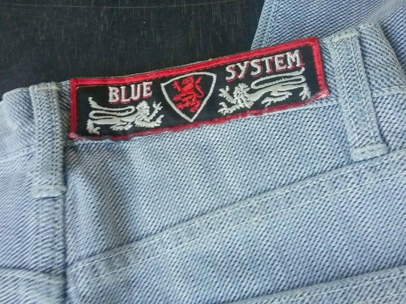 80b75f184f Blue System Jeans Basic Logo Light Blue with Pattern Boys   Etsy