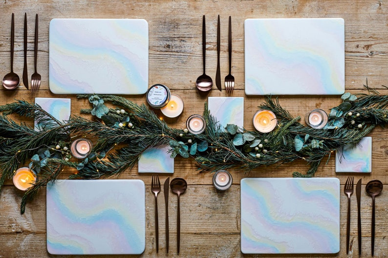 Olivia Rubin x Etsy Placemat and Coasters Dining Set image 0