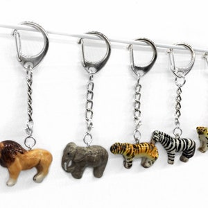 Tiny Porcelain Sloth Pendant \u2022 Hand Painted \u2022 Hand Made \u2022 Gift For Her \u2022 Animal lover \u2022 Kids Gift \u2022 Cute Miniature Endangered Figurine Charm