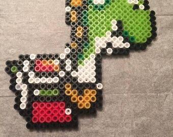 Yoshi - Super Mario Bros. 2 Perler Art