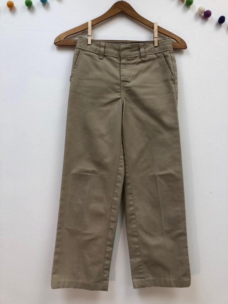 ad142752 Kids 1990s Khaki Dickies Pants Vintage Tan Work Wear Utility | Etsy