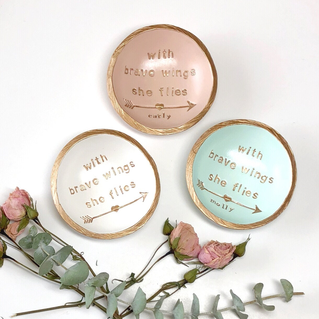 Personalized Ring Dish / Engagement Gift / Wedding Gift