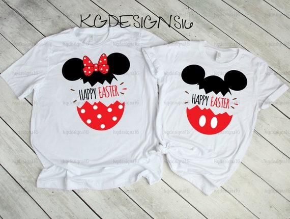 Disney Easter Shirt-Matching Disney Family Shirts-Minnie Easter Egg-Mickey Easter Egg-Kids Disney Shirt -Disney Holidays-Holiday Ears