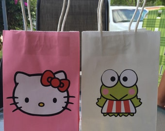 34a1ece24e5 Candy bags inspired by Hello Kitty and Keroppi
