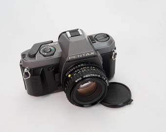 Pentax P30T with Pentax-A 50mm f/2 Lens