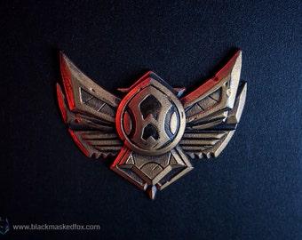 Bronze Badge, LoL - hand painted