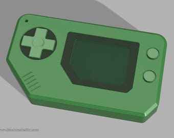 Arcade Ahri handheld console, LoL, Cosplay, 3D Model file