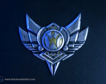 Silver Badge, LoL - hand painted