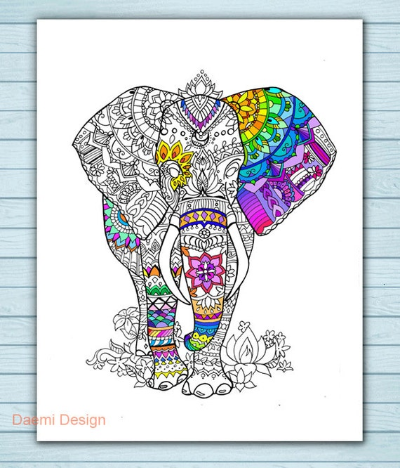 Baby Elephant Color Pages Ant Coloring Pages Baby Elephant Color ... | 666x570