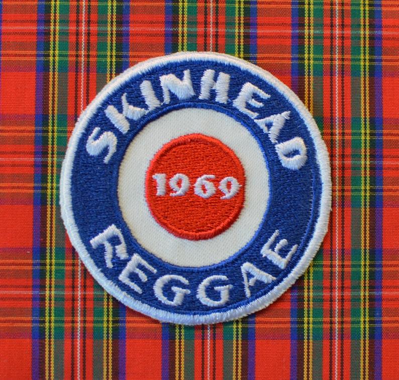 Iron on Patch Skinhead Reggae Mod 1969