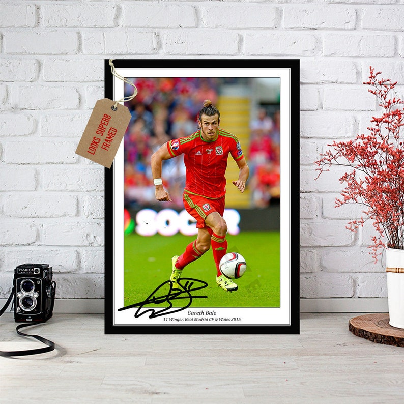 bb61305ffe7 Gareth Bale   Wales Football   Autographed Signed