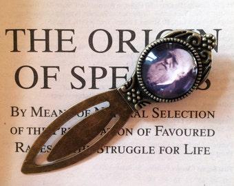 Charles Darwin Bookmark - Atheist Gift, The Origin of Species, Darwinism Gift, Natural Selection Bookmark, Charles Darwin Gift for Scientist