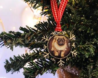 Personalised Christmas Ornament - Custom Photo Christmas Decoration, Your Own Photo, Personalized Christmas Tree Ornament, Christmas Gift
