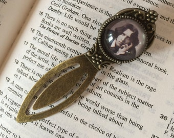 Oscar Wilde Bookmark - Oscar Wilde Gift, Wildean Bookmark, Gift For Reader, Book Lover, Bibliophile, Author Bookmark, Library Accessory