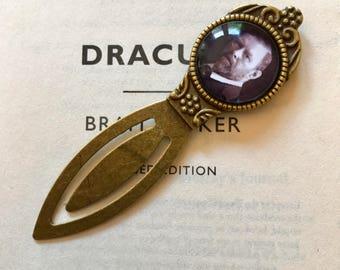 Bram Stoker Bookmark - Dracula Gift, Bram Stoker Gift, Dracula Bookmark, Gothic Novel Gift, Romantic Literature Bookmark, Abraham Stoker