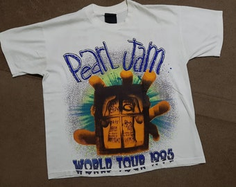16df31744 Vintage Pearl Jam shirt, Nirvana,Sonic youth, Kurt Cobain, Grunge