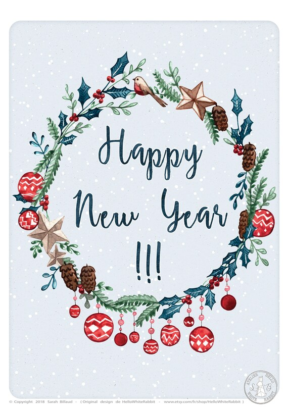 Happy New Year Cards 6