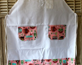Pink Retro Memories Chef Apron