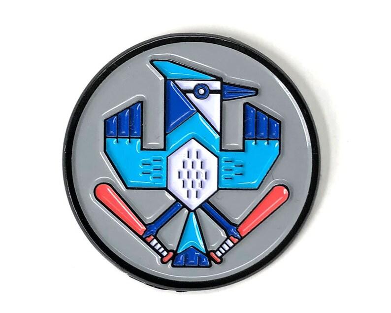 Blue Jay/1.25/Soft Enamel Pin image 0