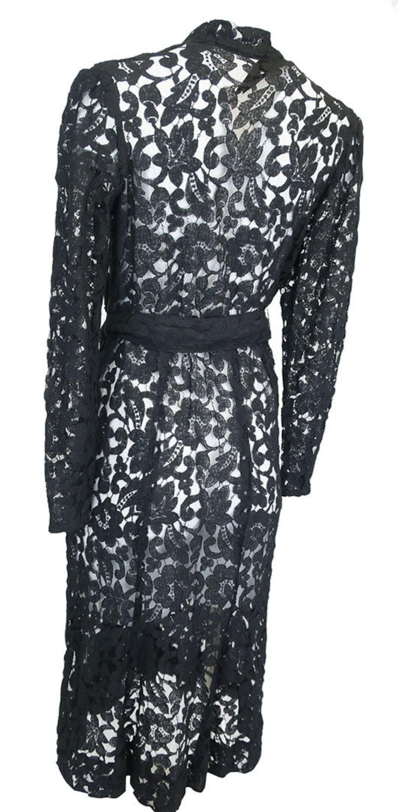 Vintage 1930/'s Lace gown