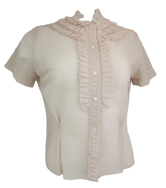 Vintage 1950's Sheer Blouse