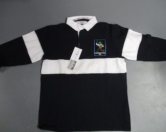 bfd306fd241 Froggies seven vintage rugby shirt by cotton oxford made in the 90's new  with tags made in U.K