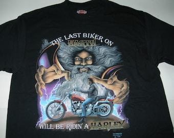Harley Davidson T Shirt Etsy