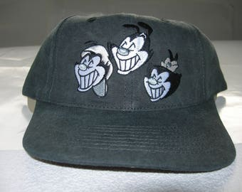 Animaniacs vintage 1994 snapback washed grey embroided new with tags by head  start sportswear copyright warner brothers de299c65f967