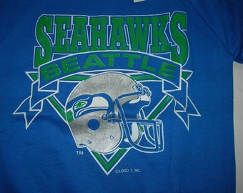 57af4fbd Vintage Seattle Seahawks NFL football sweatshirt by LOGO7 made in the USA  New with sticker